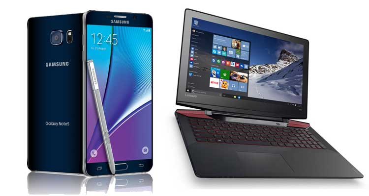 Giveaway: vinci Samsung Galaxy Note 5 o notebook gaming gratis!