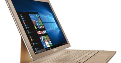 Samsung TabPro S: arriva in versione Gold con feature importanti