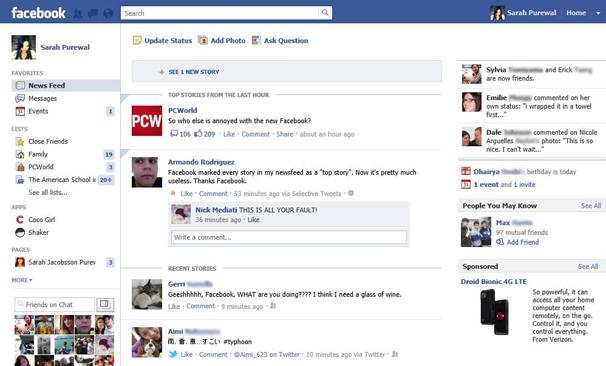 Newsfeed di Facebook