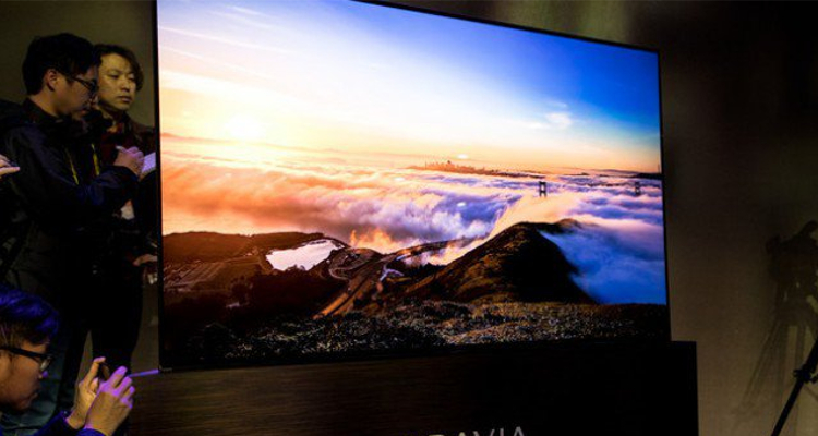 CES 2017, Sony presenta i nuovi Android TV OLED A1