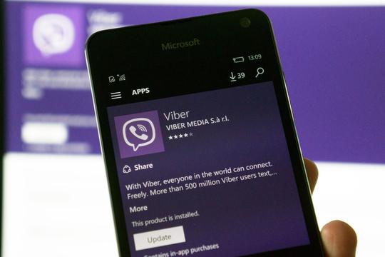 Viber: corposo aggiornamento su Windows 10 Mobile e desktop