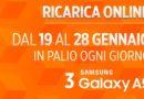Wind ricarica online e vinci Samsung Galaxy A5 gratis!