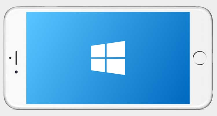 windows su iphone