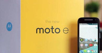 Moto E4