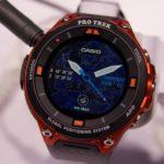 Casio Pro Trek F20: sul mercato smartwatch Android Wear 2.0 rugged per lo sport