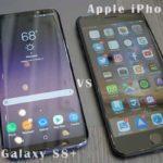 Apple iPhone 7 Plus vs Samsung Galaxy S8+ confronto smartphone con foto