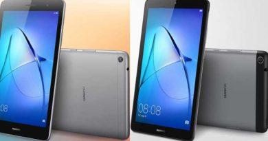 Huawei Mediapad T3: nuovi tablet Android economici da 7 e 8 pollici annunciati