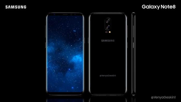 Galaxy Note 8 si mostra tramite alcune foto trapelate in rete