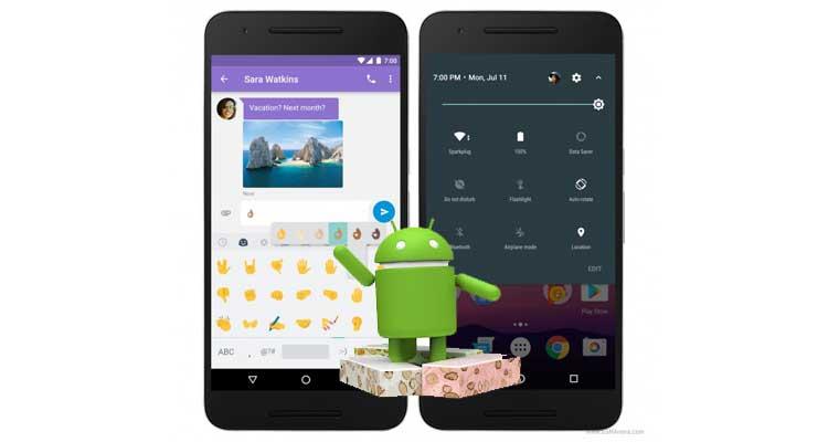 Android Nougat 7.1.2 arriva su smartphone Google Pixel e ...