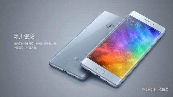 Xiaomi Mi Note 2 ufficiale: schermo curvo e sensore Sony da 23MP!