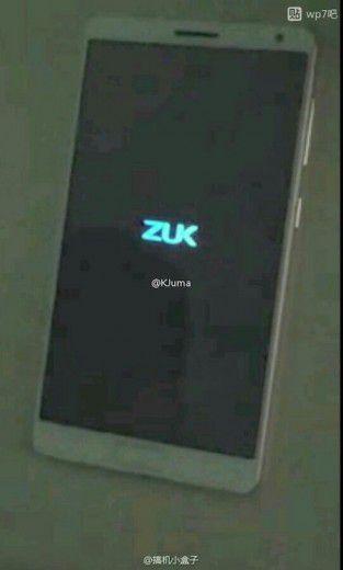Zuk Edge: eccolo in delle presunte foto dal vivo