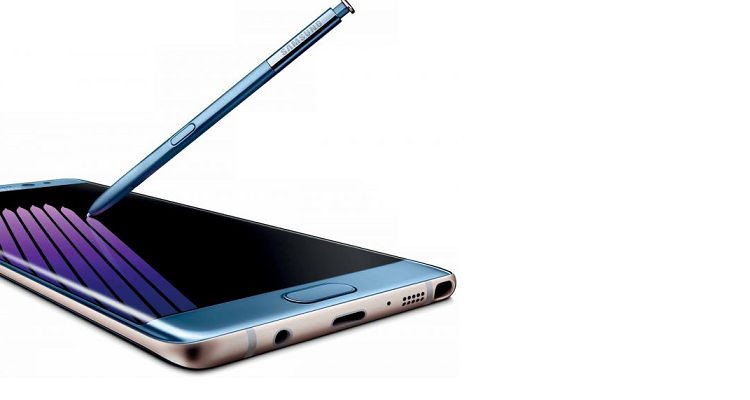 Galaxy Note 7, in Europa limite ricarica al 30%