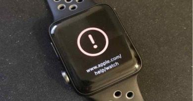 WatchOS 3.1.1. bloccato per alcuni problemi all'aggiornamento