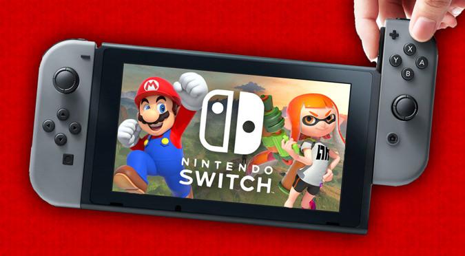 Nintendo Switch Mario