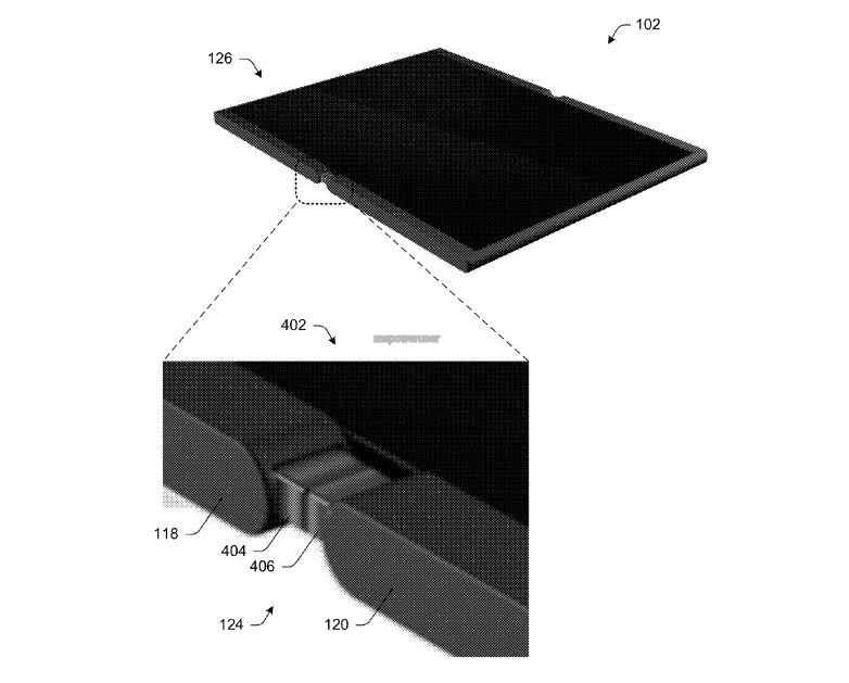 Microsoft smartphone pieghevole