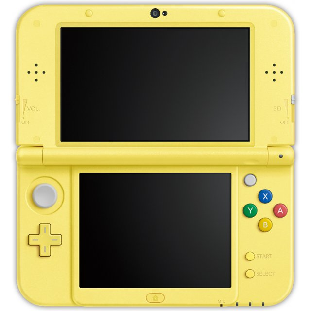 New Nintendo 3DS Pikachu Yellow Edition