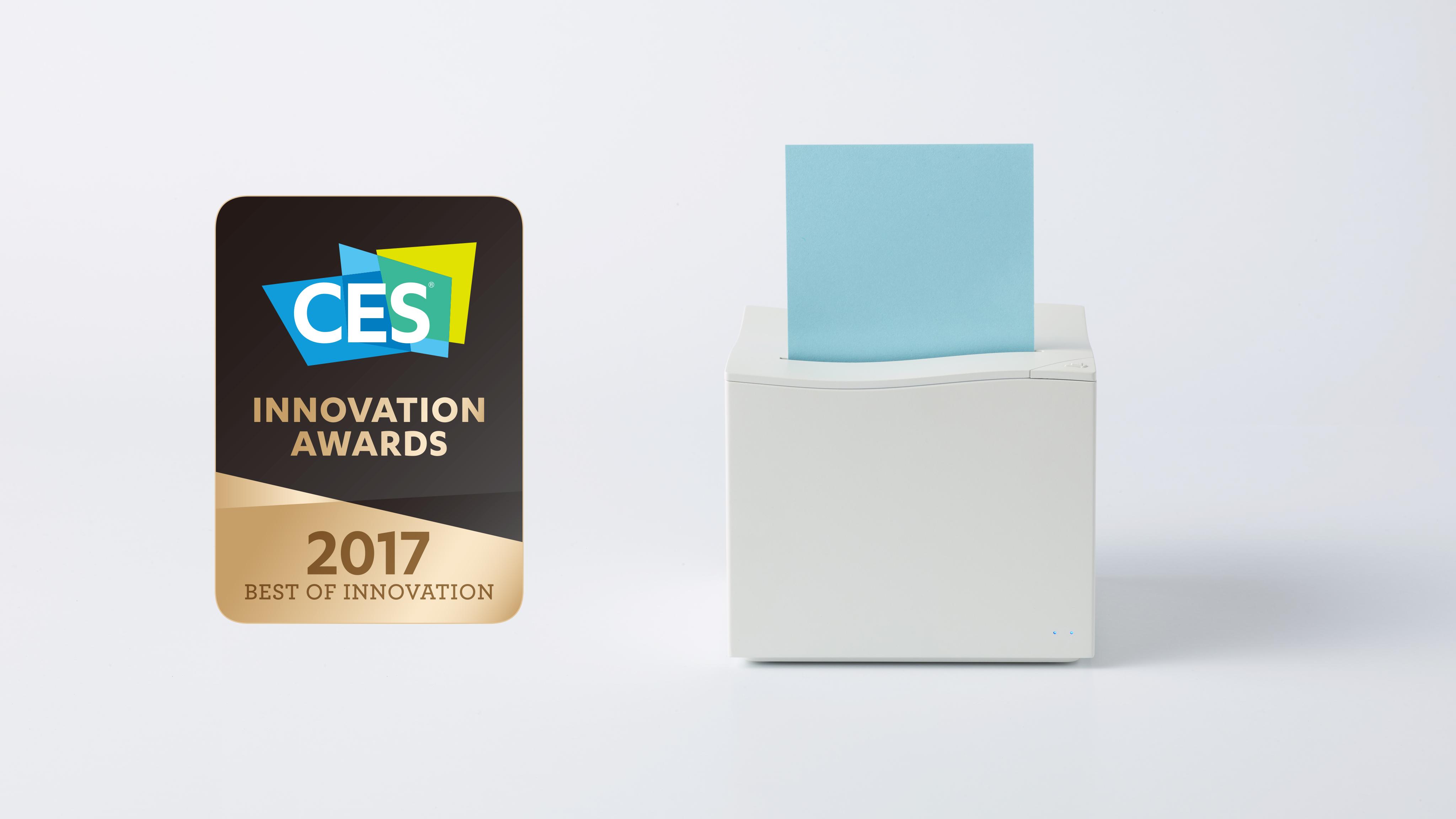 CES 2017: la stampante Nemonic trasforma i tuoi selfie in post-it