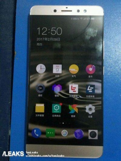 Leeco Le X920 con SD820 e 6 GB di RAM si mostra in foto