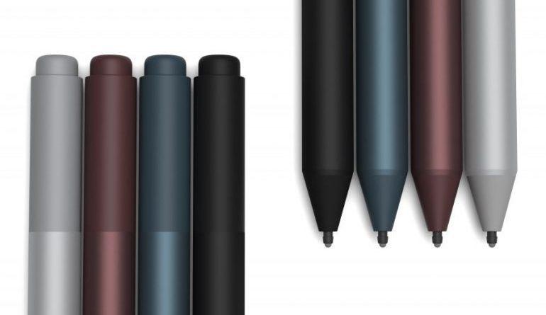 Surface Pen, Microsoft lancia un nuovo modello di pennino per tablet