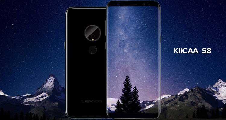 Leagoo Kiicaa S8: arriva il clone di Galaxy S8 ma con doppia fotocamera