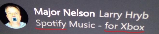 Spotify su Xbox One