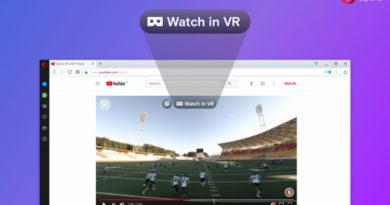 Opera Developer 49, arriva il supporto alla realtà virtuale a 360°