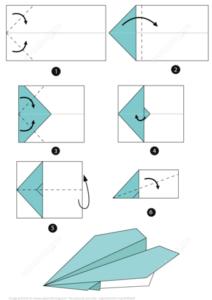 powerup dart origami