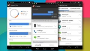 pulire android con CCleaner