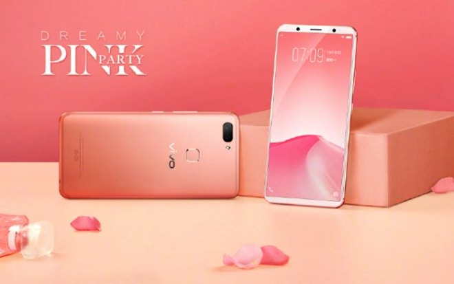 Vivo X20 Dreamy Pink