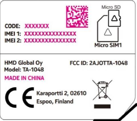 Nokia 4 certificato FCC