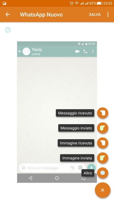 chat false su whatsapp