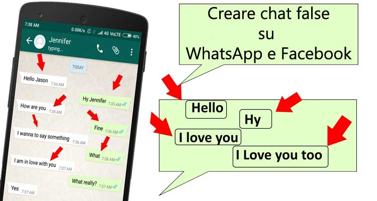 chat false whatsapp