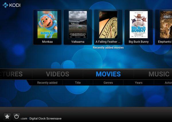 app per vedere tv Kodi