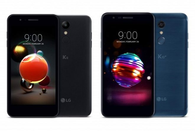 LG K8 e K10 (2018)