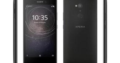 smartphone sony xperia l2