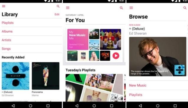 Apple music aggiornamento