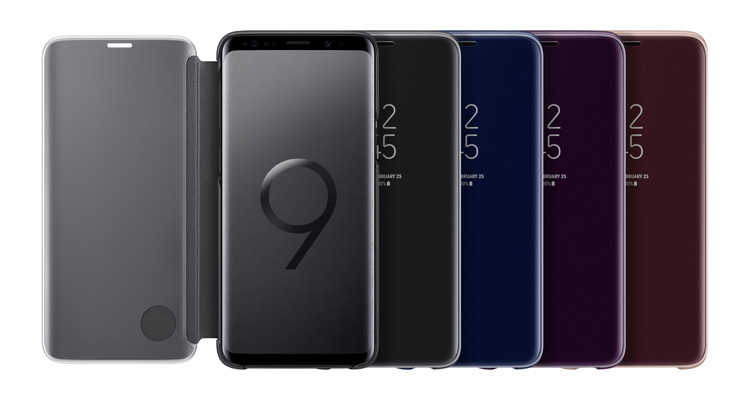 samsung s9 plus custodia libro