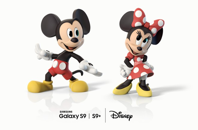 Galaxy S9 emoji Disney