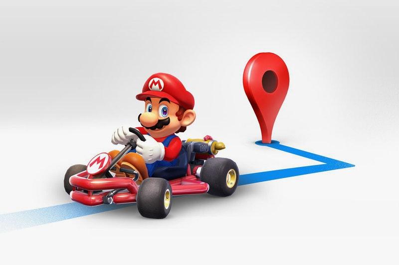 Mario su Google Maps