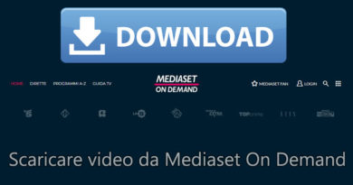 video mediaset on demand
