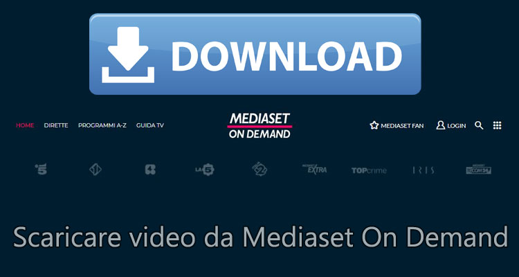 video da video mediaset con google chrome