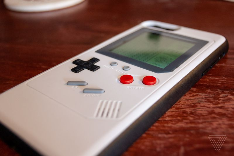 iPhone Game Boy cover