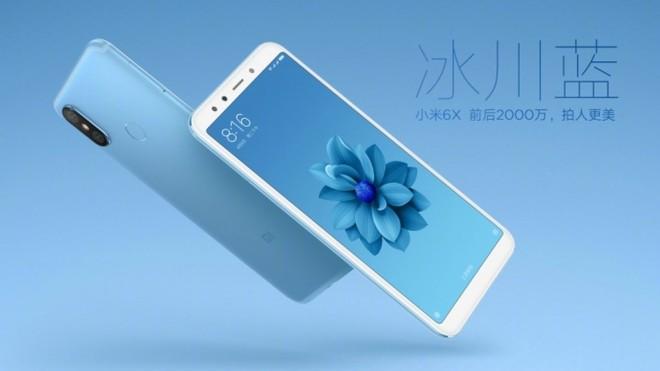 Xiaomi Mi 6X blu