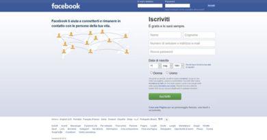 accedere facebook senza registrarsi