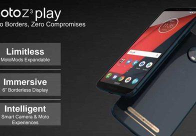 Moto Z3 Play, lancio ufficiale fissato per il 6 Giugno in Brasile: probabili specifiche