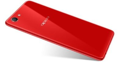Oppo A73s rosso