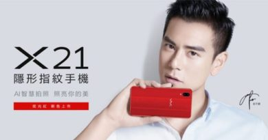 vivo x21 glare red