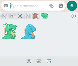 whatsapp reactions