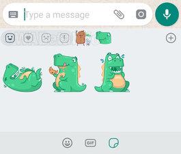 WhatsApp reactions