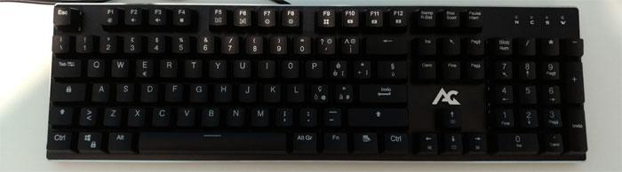 tastiera gaming acgam